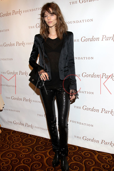 New York - June 01: Freja in attendance at The Gordon Parks Foundation Awards Dinner and Auction at Gotham Hall on Wednesday, June 1, 2011 in New York, NY.  (Photo by Steve Mack/S.D. Mack Pictures)