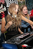 NEW YORK, NY - JUNE 04:  DJs Harley Viera-Newton and Cassie Coane perform at the opening of NYC Rockography Cafe on June 4, 2011 in New York City.  (Photo by Steve Mack/S.D. Mack Pictures) *** Local Caption *** Harley Viera-Newton; Cassie Coane