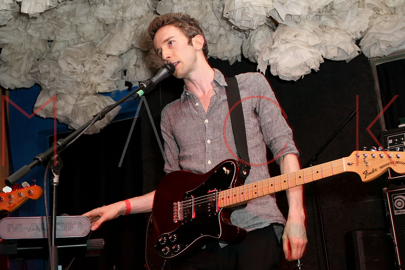 NEW YORK, NY - JUNE 19:  Ben Sterling (guitar/vocals) of Cookies performs during the 2011 Northside Music Festival at The Glasslands Gallery on June 19, 2011 in New York City.  (Photo by Steve Mack/S.D. Mack Pictures) *** Local Caption *** Ben Sterling