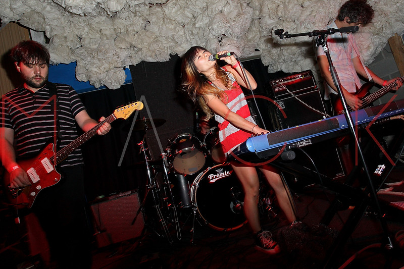 NEW YORK, NY - JUNE 19:  Asobi Seksu performs during the 2011 Northside Music Festival at The Glasslands Gallery on June 19, 2011 in New York City.  (Photo by Steve Mack/S.D. Mack Pictures)