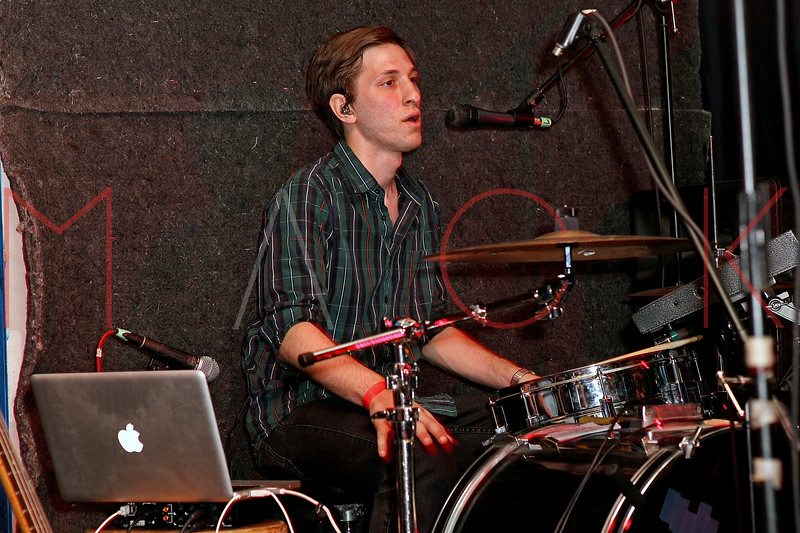 NEW YORK, NY - JUNE 19:  Ian Ainley (drums) of Cookies performs during the 2011 Northside Music Festival at The Glasslands Gallery on June 19, 2011 in New York City.  (Photo by Steve Mack/S.D. Mack Pictures) *** Local Caption *** Ian Ainley