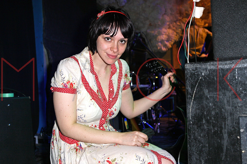 NEW YORK, NY - JUNE 19:  Doris Cellar of Freelance Whales performs during the 2011 Northside Music Festival at The Glasslands Gallery on June 19, 2011 in New York City.  (Photo by Steve Mack/S.D. Mack Pictures) *** Local Caption *** Doris Cellar