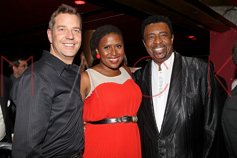 NEW YORK, NY - JUNE 14:  (L-R) Steven Reineke, Deva Mahal and Dennis Edwards attend the 2011 SummerStage gala at Roseland Ballroom on June 14, 2011 in New York City.  (Photo by Steve Mack/S.D. Mack Pictures) *** Local Caption *** Martha Reeves; Deva Mahal; Dennis Edwards