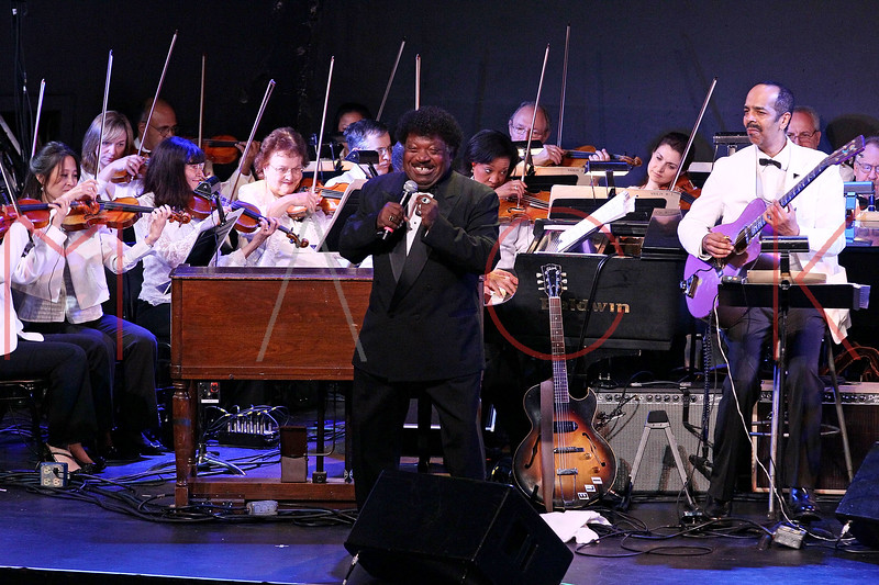 NEW YORK, NY - JUNE 14:  Percy Sledge performs on stage at the 2011 SummerStage gala at Roseland Ballroom on June 14, 2011 in New York City.  (Photo by Steve Mack/S.D. Mack Pictures) *** Local Caption *** Percy Sledge