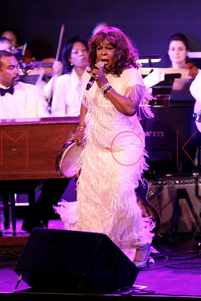 NEW YORK, NY - JUNE 14:  Martha Reeves performs on stage at the 2011 SummerStage gala at Roseland Ballroom on June 14, 2011 in New York City.  (Photo by Steve Mack/S.D. Mack Pictures) *** Local Caption *** Martha Reeves