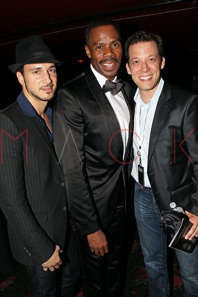 NEW YORK, NY - JUNE 14:  Sir Ari Gold, Coleman Domingo and John Tartaglia attend the 2011 SummerStage gala at Roseland Ballroom on June 14, 2011 in New York City.  (Photo by Steve Mack/S.D. Mack Pictures) *** Local Caption *** Sir Ari Gold; Coleman Domingo; John Tartaglia