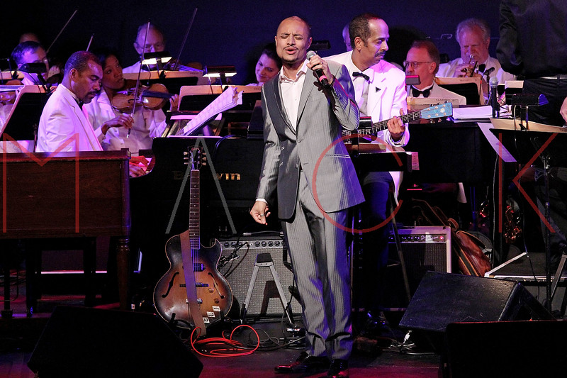 NEW YORK, NY - JUNE 14:  Jose James performs on stage at the 2011 SummerStage gala at Roseland Ballroom on June 14, 2011 in New York City.  (Photo by Steve Mack/S.D. Mack Pictures) *** Local Caption *** Jose James