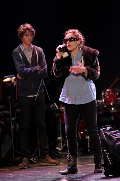 NEW YORK, NY - MARCH 07:  Nate Wolff and Kat Pallardy perform at the 2011 24 Hour Musicals at Blender Theatre on March 7, 2011 in New York City.  (Photo by Steve Mack/S.D. Mack Pictures) *** Local Caption *** Nate Wolff; Kat Pallardy