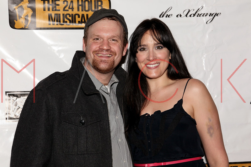 NEW YORK, NY - MARCH 07:  Ash Fulk and Dee Roscioli attend the after party following the 2011 24 Hour Musicals at The National Arts Club on March 7, 2011 in New York City.  (Photo by Steve Mack/S.D. Mack Pictures) *** Local Caption *** Ash Fulk; Dee Roscioli