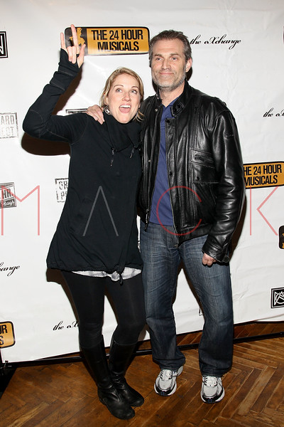 NEW YORK, NY - MARCH 07:  Julie Reiber and Marc Kudisch attend the after party following the 2011 24 Hour Musicals at The National Arts Club on March 7, 2011 in New York City.  (Photo by Steve Mack/S.D. Mack Pictures) *** Local Caption *** Julie Reiber; Marc Kudisch