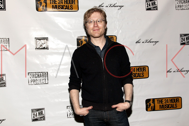 NEW YORK, NY - MARCH 07:  Anthony Rapp attends the after party following the 2011 24 Hour Musicals at The National Arts Club on March 7, 2011 in New York City.  (Photo by Steve Mack/S.D. Mack Pictures) *** Local Caption *** Anthony Rapp