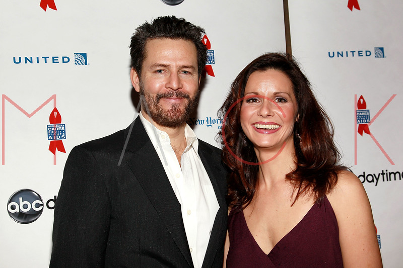 NEW YORK, NY - MARCH 13:  Ted King and Florencia Lozano attend the 7th Annual ABC & SOAPnet Salute Broadway Cares/Equity Fights Aids Benefit closing celebration at The New York Marriott Marquis on March 13, 2011 in New York City.  (Photo by Steve Mack/S.D. Mack Pictures) *** Local Caption *** Ted King; Florencia Lozano