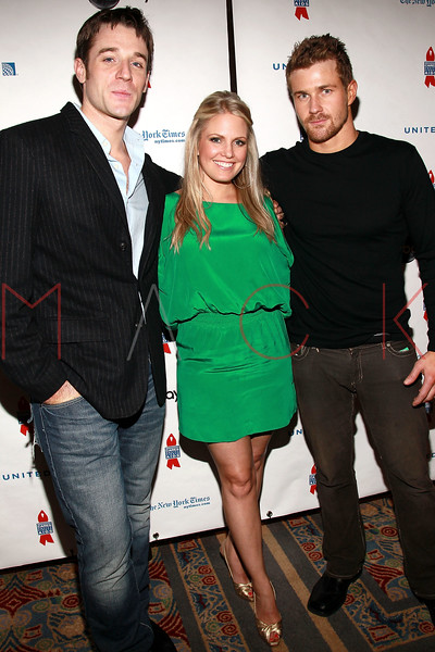 NEW YORK, NY - MARCH 13:  Ted King, Terri Conn and Josh Kelly attend the 7th Annual ABC & SOAPnet Salute Broadway Cares/Equity Fights Aids Benefit closing celebration at The New York Marriott Marquis on March 13, 2011 in New York City.  (Photo by Steve Mack/S.D. Mack Pictures) *** Local Caption *** Ted King; Terri Conn; Josh Kelly