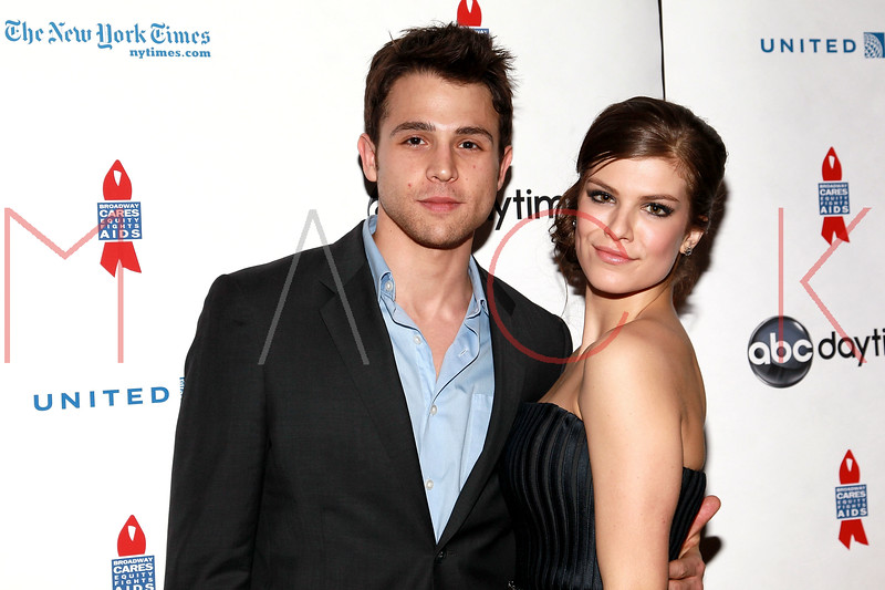 NEW YORK, NY - MARCH 13:  Lenny Platt and Kelley Missal attend the 7th Annual ABC & SOAPnet Salute Broadway Cares/Equity Fights Aids Benefit closing celebration at The New York Marriott Marquis on March 13, 2011 in New York City.  (Photo by Steve Mack/S.D. Mack Pictures) *** Local Caption *** Lenny Platt; Kelley Missal