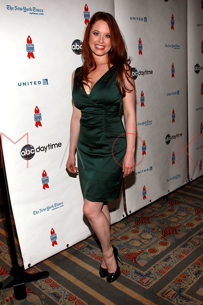 NEW YORK, NY - MARCH 13:  Melissa Archer attends the 7th Annual ABC & SOAPnet Salute Broadway Cares/Equity Fights Aids Benefit closing celebration at The New York Marriott Marquis on March 13, 2011 in New York City.  (Photo by Steve Mack/S.D. Mack Pictures) *** Local Caption *** Melissa Archer