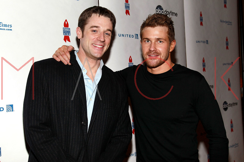 NEW YORK, NY - MARCH 13:  Ted King and Josh Kelly attend the 7th Annual ABC & SOAPnet Salute Broadway Cares/Equity Fights Aids Benefit closing celebration at The New York Marriott Marquis on March 13, 2011 in New York City.  (Photo by Steve Mack/S.D. Mack Pictures) *** Local Caption *** Ted King; Josh Kelly