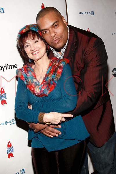 NEW YORK, NY - MARCH 13:  Robin Strasser and Sean Ringgold attends the 7th Annual ABC & SOAPnet Salute Broadway Cares/Equity Fights Aids Benefit closing celebration at The New York Marriott Marquis on March 13, 2011 in New York City.  (Photo by Steve Mack/S.D. Mack Pictures) *** Local Caption *** Robin Strasser; Sean Ringgold