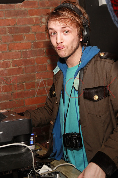 NEW YORK, NY - MARCH 24:  DJ Liam McMullan attends designer Alexa Winner's birthday Party at The Chelsea Room on March 24, 2011 in New York City.  (Photo by Steve Mack/S.D. Mack Pictures) *** Local Caption *** Liam McMullan