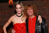 NEW YORK, NY - MARCH 24:  Fashion designer Alexa Winner and Musician Michael Demetrious (drums) of Just Visiting performs at designer Alexa Winner's birthday Party at The Chelsea Room on March 24, 2011 in New York City.  (Photo by Steve Mack/S.D. Mack Pictures) *** Local Caption *** Alexa Winner; Michael Demetrious