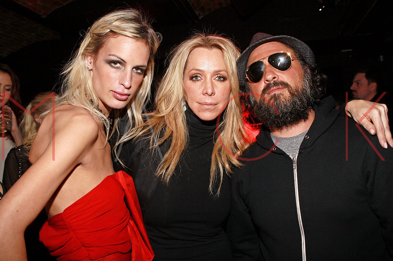 NEW YORK, NY - MARCH 24:  Fashion designer Alexa Winner, Anna Rothschild and street artist Thierry Guetta AKA Mr. Brainwash attends designer Alexa Winner's birthday Party at The Chelsea Room on March 24, 2011 in New York City.  (Photo by Steve Mack/S.D. Mack Pictures) *** Local Caption *** Alexa Winner; Anna Rothschild; Thierry Guetta
