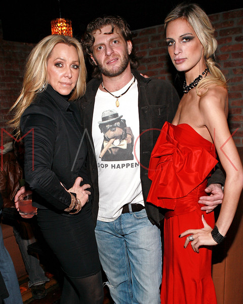 NEW YORK, NY - MARCH 24:  Anna Rothschild, Phillip Langer and fashion designer Alexa Winner attend designer Alexa Winner's birthday Party at The Chelsea Room on March 24, 2011 in New York City.  (Photo by Steve Mack/S.D. Mack Pictures) *** Local Caption *** Anna Rothschild; Phillip Langer; Alexa Winner