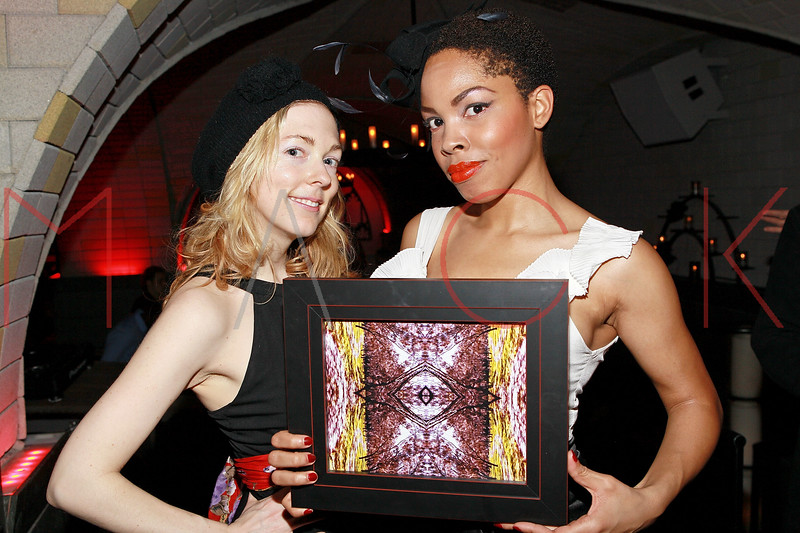 NEW YORK, NY - MARCH 26:  Artist Erin Dinan (L) attends the Art.Sound Movement Launch Party at The Bryant Park Hotel on March 26, 2011 in New York City.  (Photo by Steve Mack/S.D. Mack Pictures) *** Local Caption *** Erin Dinan