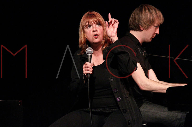 "NEW YORK, NY - MARCH 10:  Annie Golden performs at the ""Broadway Goes To The Dogs"" To Benefit Friends Of Animal Rescue event at The Triad Theater on March 10, 2011 in New York City.  (Photo by Steve Mack/S.D. Mack Pictures) *** Local Caption *** Annie Golden"