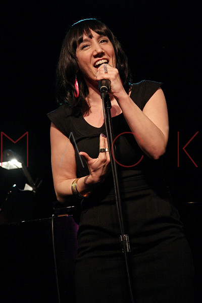 """NEW YORK, NY - MARCH 10:  Gabrielle Stravelli performs at the """"Broadway Goes To The Dogs"""" To Benefit Friends Of Animal Rescue event at The Triad Theater on March 10, 2011 in New York City.  (Photo by Steve Mack/S.D. Mack Pictures) *** Local Caption *** Gabrielle Stravelli"""
