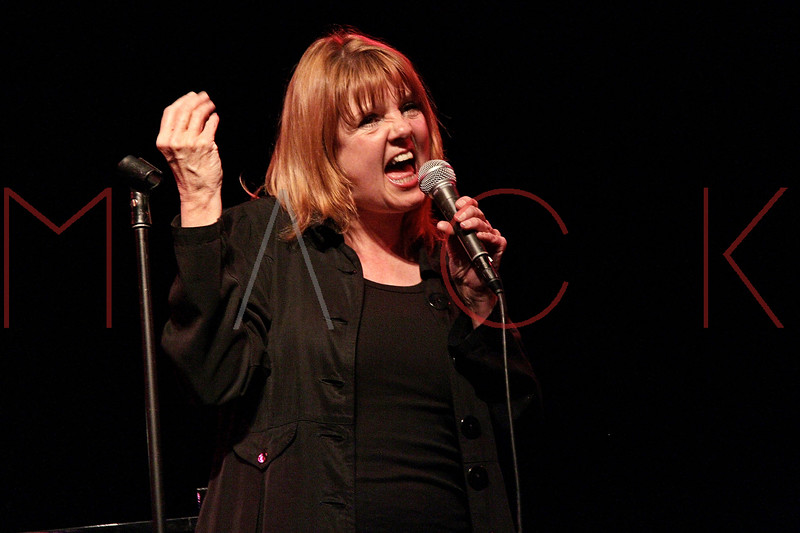 """NEW YORK, NY - MARCH 10:  Annie Golden performs at the """"Broadway Goes To The Dogs"""" To Benefit Friends Of Animal Rescue event at The Triad Theater on March 10, 2011 in New York City.  (Photo by Steve Mack/S.D. Mack Pictures) *** Local Caption *** Annie Golden"""