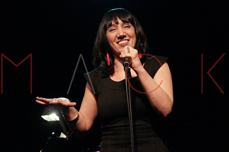 "NEW YORK, NY - MARCH 10:  Gabrielle Stravelli performs at the ""Broadway Goes To The Dogs"" To Benefit Friends Of Animal Rescue event at The Triad Theater on March 10, 2011 in New York City.  (Photo by Steve Mack/S.D. Mack Pictures) *** Local Caption *** Gabrielle Stravelli"