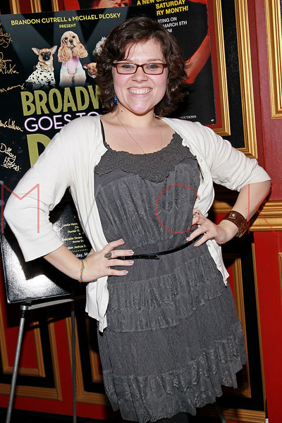 "NEW YORK, NY - MARCH 10:  Michelle Dowdy attends the ""Broadway Goes To The Dogs"" To Benefit Friends Of Animal Rescue event at The Triad Theater on March 10, 2011 in New York City.  (Photo by Steve Mack/S.D. Mack Pictures) *** Local Caption *** Michelle Dowdy"