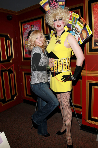 "NEW YORK, NY - MARCH 10:  Felicia Finley (L) attends the ""Broadway Goes To The Dogs"" To Benefit Friends Of Animal Rescue event at The Triad Theater on March 10, 2011 in New York City.  (Photo by Steve Mack/S.D. Mack Pictures) *** Local Caption *** Felicia Finley"