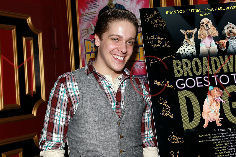 "NEW YORK, NY - MARCH 10:  Derek St. Pierre attends the ""Broadway Goes To The Dogs"" To Benefit Friends Of Animal Rescue event at The Triad Theater on March 10, 2011 in New York City.  (Photo by Steve Mack/S.D. Mack Pictures) *** Local Caption *** Derek St. Pierre"
