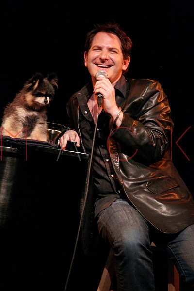 """NEW YORK, NY - MARCH 10:  Jamison Stern performs at the """"Broadway Goes To The Dogs"""" To Benefit Friends Of Animal Rescue event at The Triad Theater on March 10, 2011 in New York City.  (Photo by Steve Mack/S.D. Mack Pictures) *** Local Caption *** Jamison Stern"""