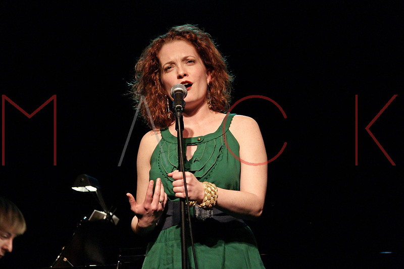 "NEW YORK, NY - MARCH 10:  Leslie Henstock performs at the ""Broadway Goes To The Dogs"" To Benefit Friends Of Animal Rescue event at The Triad Theater on March 10, 2011 in New York City.  (Photo by Steve Mack/S.D. Mack Pictures) *** Local Caption *** Leslie Henstock"
