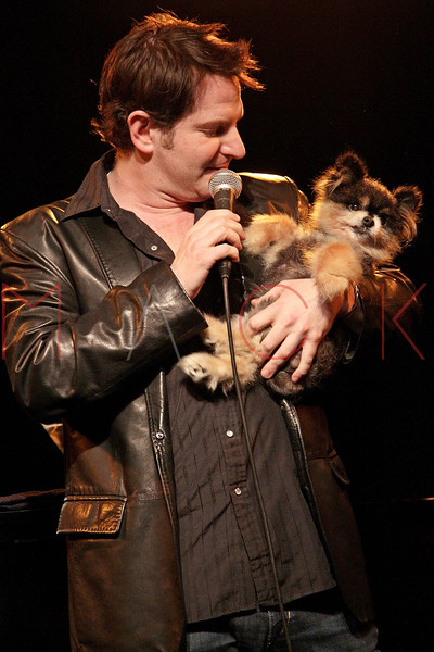"NEW YORK, NY - MARCH 10:  Jamison Stern performs at the ""Broadway Goes To The Dogs"" To Benefit Friends Of Animal Rescue event at The Triad Theater on March 10, 2011 in New York City.  (Photo by Steve Mack/S.D. Mack Pictures) *** Local Caption *** Jamison Stern"