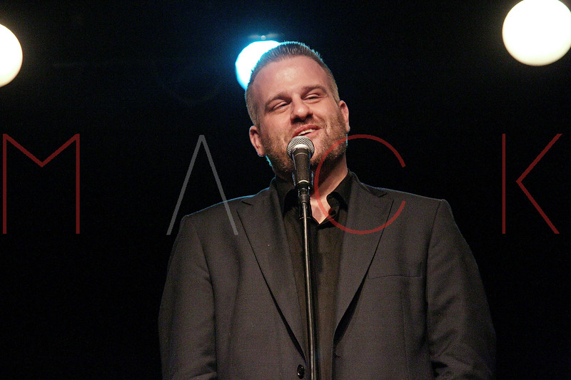 "NEW YORK, NY - MARCH 10:  Stephen Wallem performs at the ""Broadway Goes To The Dogs"" To Benefit Friends Of Animal Rescue event at The Triad Theater on March 10, 2011 in New York City.  (Photo by Steve Mack/S.D. Mack Pictures) *** Local Caption *** Stephen Wallem"