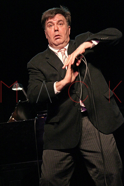 "NEW YORK, NY - MARCH 10:  Kevin Meaney performs at the ""Broadway Goes To The Dogs"" To Benefit Friends Of Animal Rescue event at The Triad Theater on March 10, 2011 in New York City.  (Photo by Steve Mack/S.D. Mack Pictures) *** Local Caption *** Kevin Meaney"