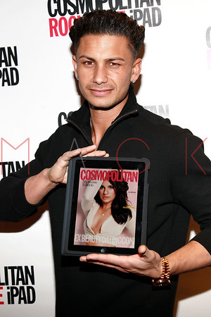 NEW YORK, NY - MARCH 23:  The launch of Cosmopolitan Magazine's new iPad application at District 36 on March 23, 2011 in New York City.
