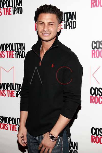 NEW YORK, NY - MARCH 23:  TV personality DJ Pauly D attends the launch of Cosmopolitan Magazine's new iPad application at District 36 on March 23, 2011 in New York City.  (Photo by Steve Mack/S.D. Mack Pictures) *** Local Caption *** Pauly D
