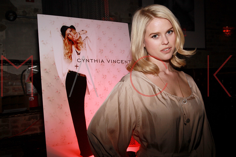 NEW YORK, NY - MARCH 30:  Actress Alice Eve attends the Cynthia Vincent flagship store launch party at Don Hill's on March 30, 2011 in New York City.  (Photo by Steve Mack/S.D. Mack Pictures) *** Local Caption *** Alice Eve