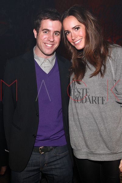 NEW YORK, NY - MARCH 30:  Kristian LaLiberte and TV Presenter Louise Roe attend the Cynthia Vincent flagship store launch party at Don Hill's on March 30, 2011 in New York City.  (Photo by Steve Mack/S.D. Mack Pictures) *** Local Caption *** Kristian LaLiberte; Louise Roe