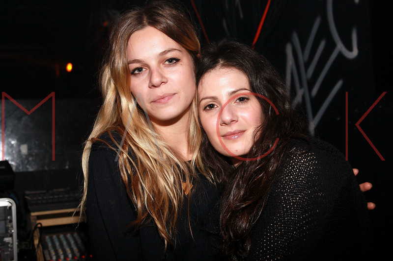NEW YORK, NY - MARCH 30:  Singer Binki Shapiro and Actress Aleksa Palladino attends the Cynthia Vincent flagship store launch party at Don Hill's on March 30, 2011 in New York City.  (Photo by Steve Mack/S.D. Mack Pictures) *** Local Caption *** Binki Shapiro; Aleksa Palladino