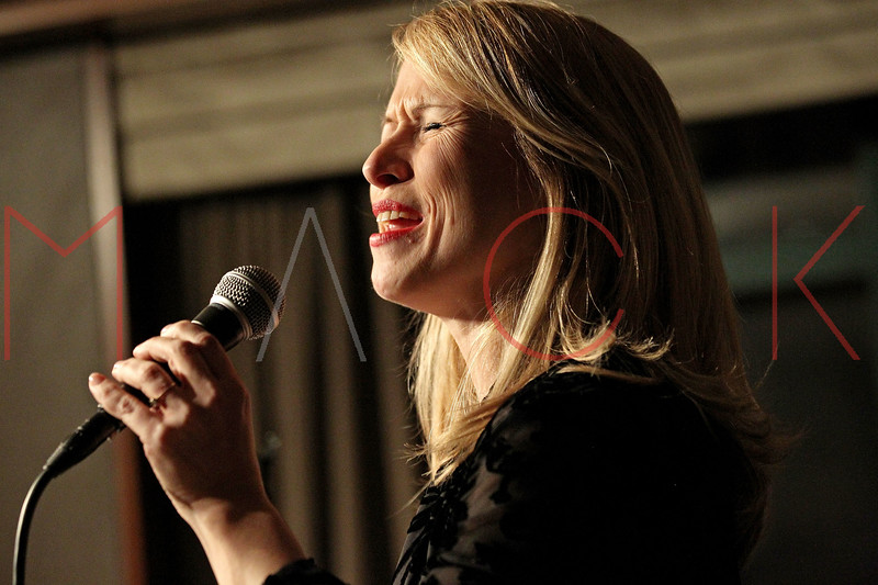 NEW YORK, NY - MARCH 23:  *** EXCLUSIVE COVERAGE *** Karen Oberlin (vocals) performs at The Kitano Hotel - Jazz Room on March 23, 2011 in New York City.  (Photo by Steve Mack/S.D. Mack Pictures) *** Local Caption *** Karen Oberlin