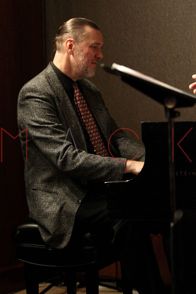 NEW YORK, NY - MARCH 23:  *** EXCLUSIVE COVERAGE *** Jon Weber (piano) performs at The Kitano Hotel - Jazz Room on March 23, 2011 in New York City.  (Photo by Steve Mack/S.D. Mack Pictures) *** Local Caption *** Jon Weber