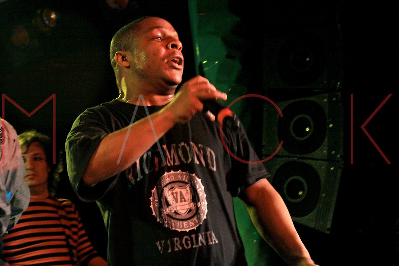 NEW YORK, NY - MARCH 26:  Vin Rock of Naughty By Nature performs at the Canal Room on March 26, 2011 in New York City.  (Photo by Steve Mack/S.D. Mack Pictures) *** Local Caption *** Vin Rock