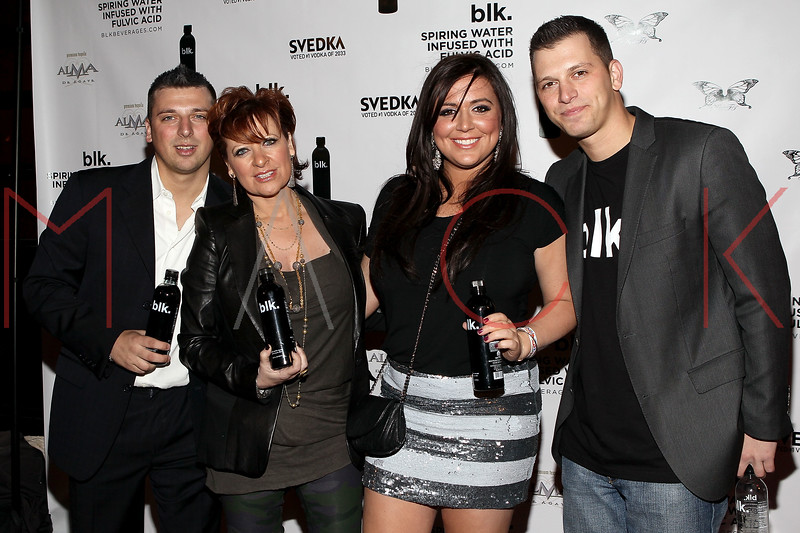 NEW YORK, NY - MARCH 05:  Chris Manzo, Caroline Manzo, Lauren Manzo and Albie Manzo visit Kiss & Fly on March 5, 2011 in New York City.  (Photo by Steve Mack/S.D. Mack Pictures) *** Local Caption *** Chris Manzo; Caroline Manzo; Lauren Manzo; Albie Manzo