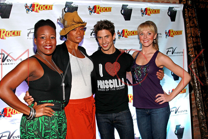 NEW YORK, NY - MARCH 11:  Anastacia McCleskey, Jacqueline B. Arnold, Nick Adams and Ashley Spencer visit Quo Nightclub on March 11, 2011 in New York City.  (Photo by Steve Mack/S.D. Mack Pictures) *** Local Caption *** Anastacia McCleskey; Jacqueline B. Arnold; Nick Adams; Ashley Spencer