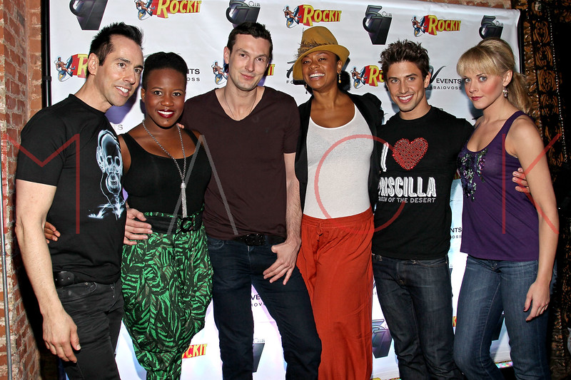 NEW YORK, NY - MARCH 11:  Tony Fornabaio, Anastacia McCleskey, Brandon Voss, Jacqueline B. Arnold, Nick Adams, and Ashley Spencer visit Quo Nightclub on March 11, 2011 in New York City.  (Photo by Steve Mack/S.D. Mack Pictures) *** Local Caption *** Tony Fornabaio; Anastacia McCleskey; Brandon Voss; Jacqueline B. Arnold; Nick Adams; Ashley Spencer