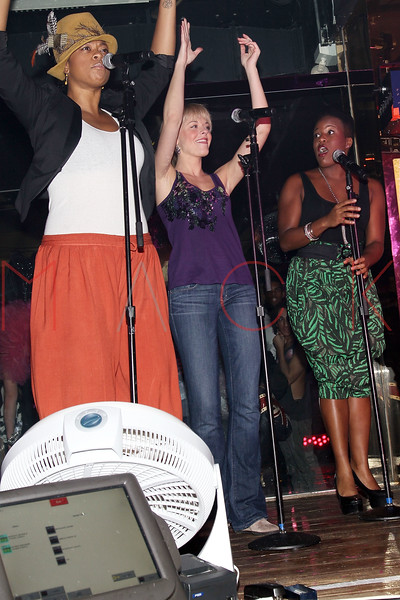 NEW YORK, NY - MARCH 11:  Jacqueline B. Arnold, Ashley Spencer and Anastacia McCleskey perform at Quo Nightclub on March 11, 2011 in New York City.  (Photo by Steve Mack/S.D. Mack Pictures) *** Local Caption *** Jacqueline B. Arnold; Ashley Spencer; Anastacia McCleskey